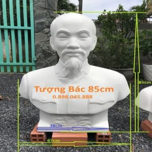 Tượng Bác Hồ Cao 85cm